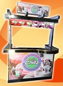 Chillz Black Pearl Shake Food Cart