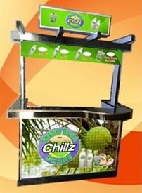 buko shake food cart