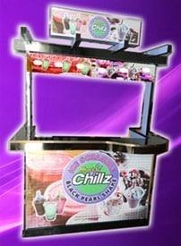 chillz yummy ice scramble food cart
