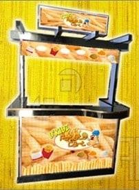 potato fries food cart