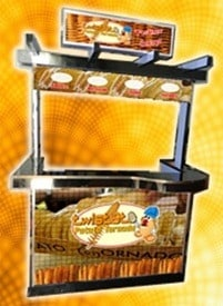 potato twister food cart package