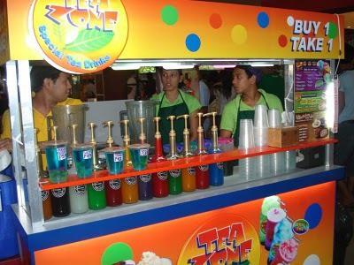 tea zone food cart