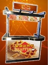 wacky waffle food cart