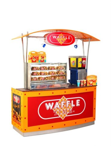 Marvelous Waffle Time Food Cart 2 8×6