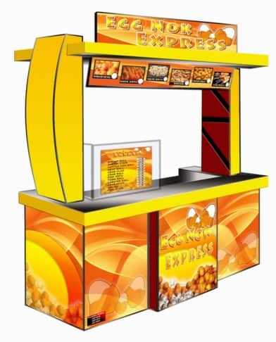 Eggnok Express Food Cart Franchise