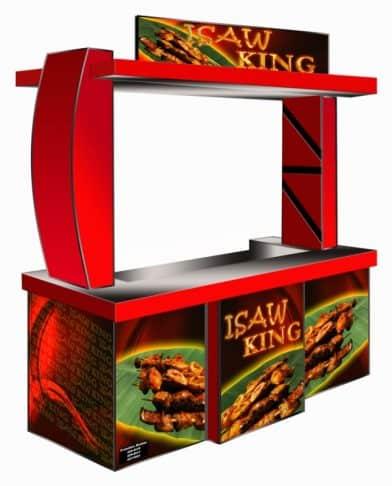 Isaw King Food Cart Franchise