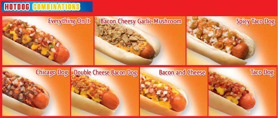 Smokey's Menu taken from their website