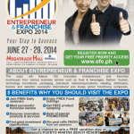 Entrepreneur and Franchise Expo 2014 Poster
