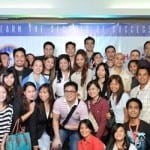 Entrepreneur Success Summit 2014 speakers together with aspiring entrepreneurs