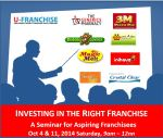 How to invest in a franchise seminar poster