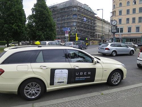 uber taxi photo