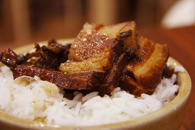 rice meal photo