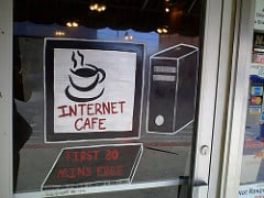 internet cafe photo