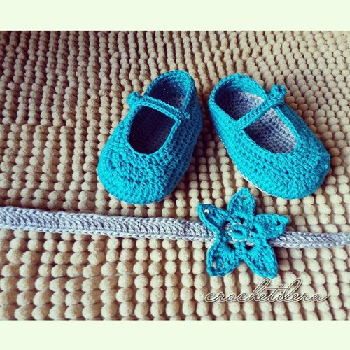 baby shoes crochet 2