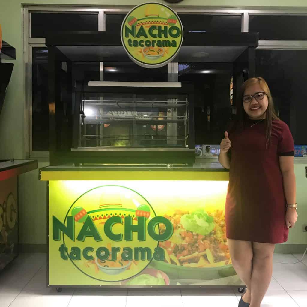 nacho tacorama food cart franchise