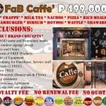 faB Caffe Ads
