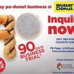 Mister Donut franchise trial