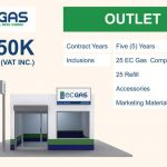 EC Gas Franchise cost