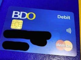 BDO Debit Card