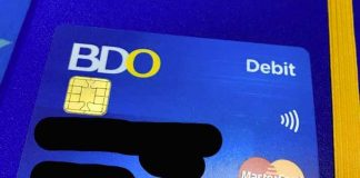 BDO Debit Card