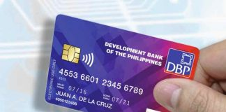 DBP credit card