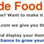 Homemade food biz Main image
