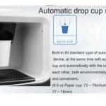 automatic drop cup coffee vending machine
