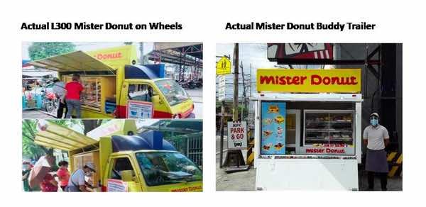 Mister Donut Franchise price