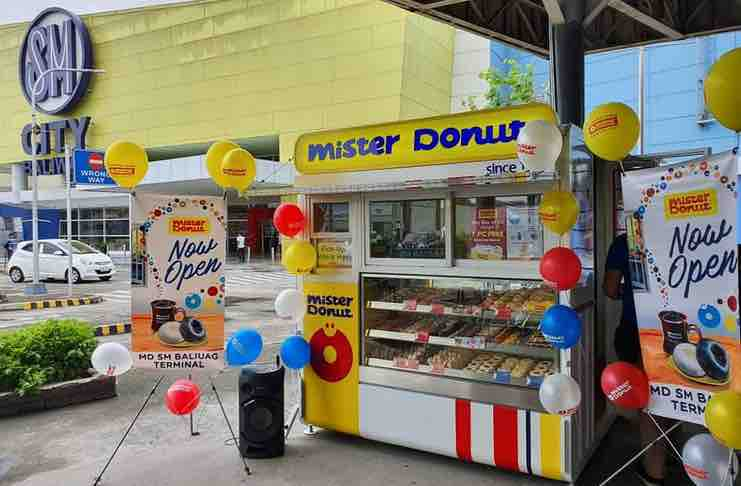 Mister Donut booth franchise