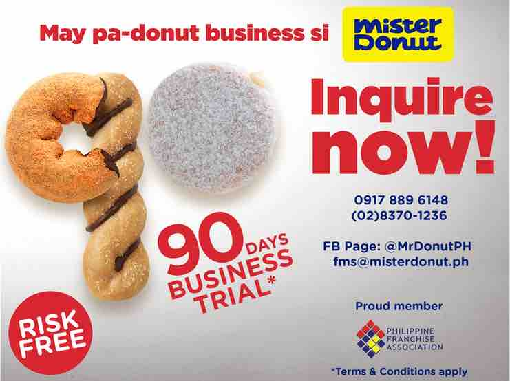 Mister donut Business Trial