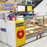 mister donut franchise stand