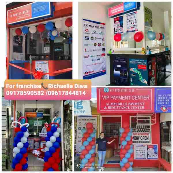 VIP Payment center franchise fee